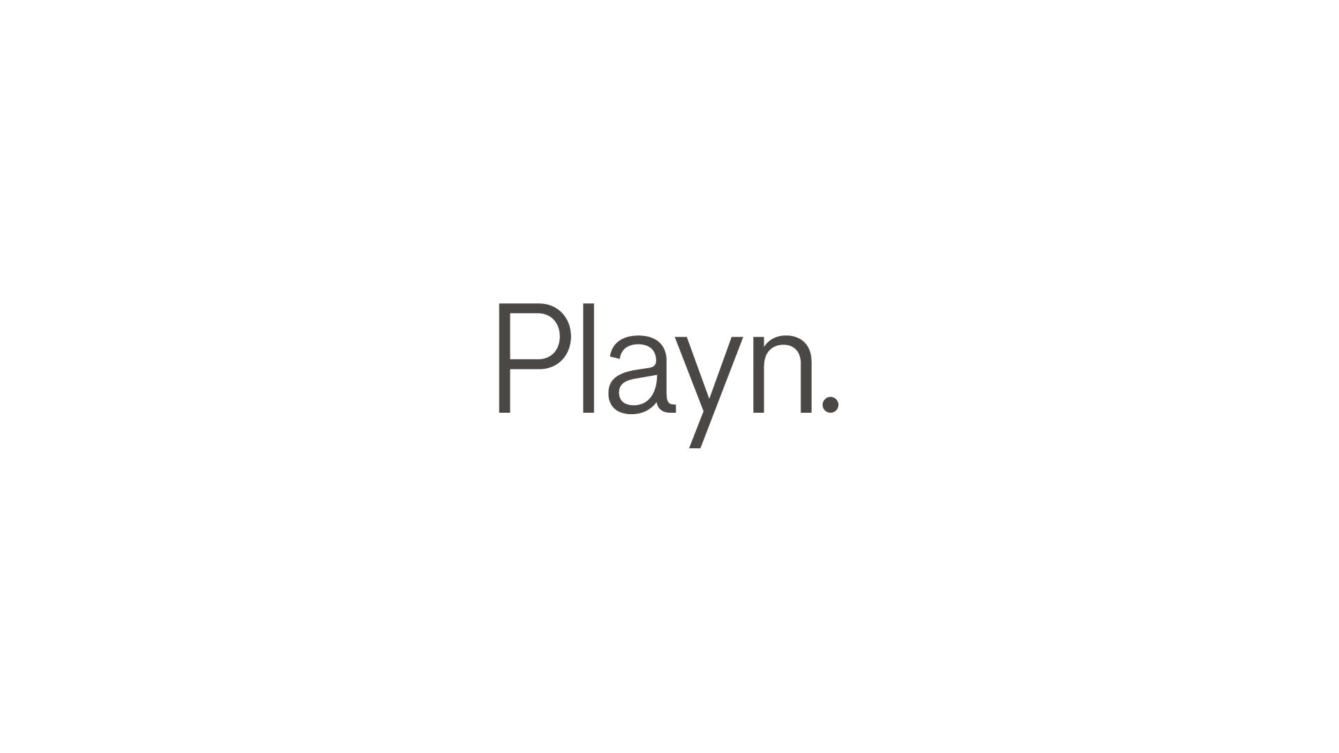 Playn. logo-black-on-white