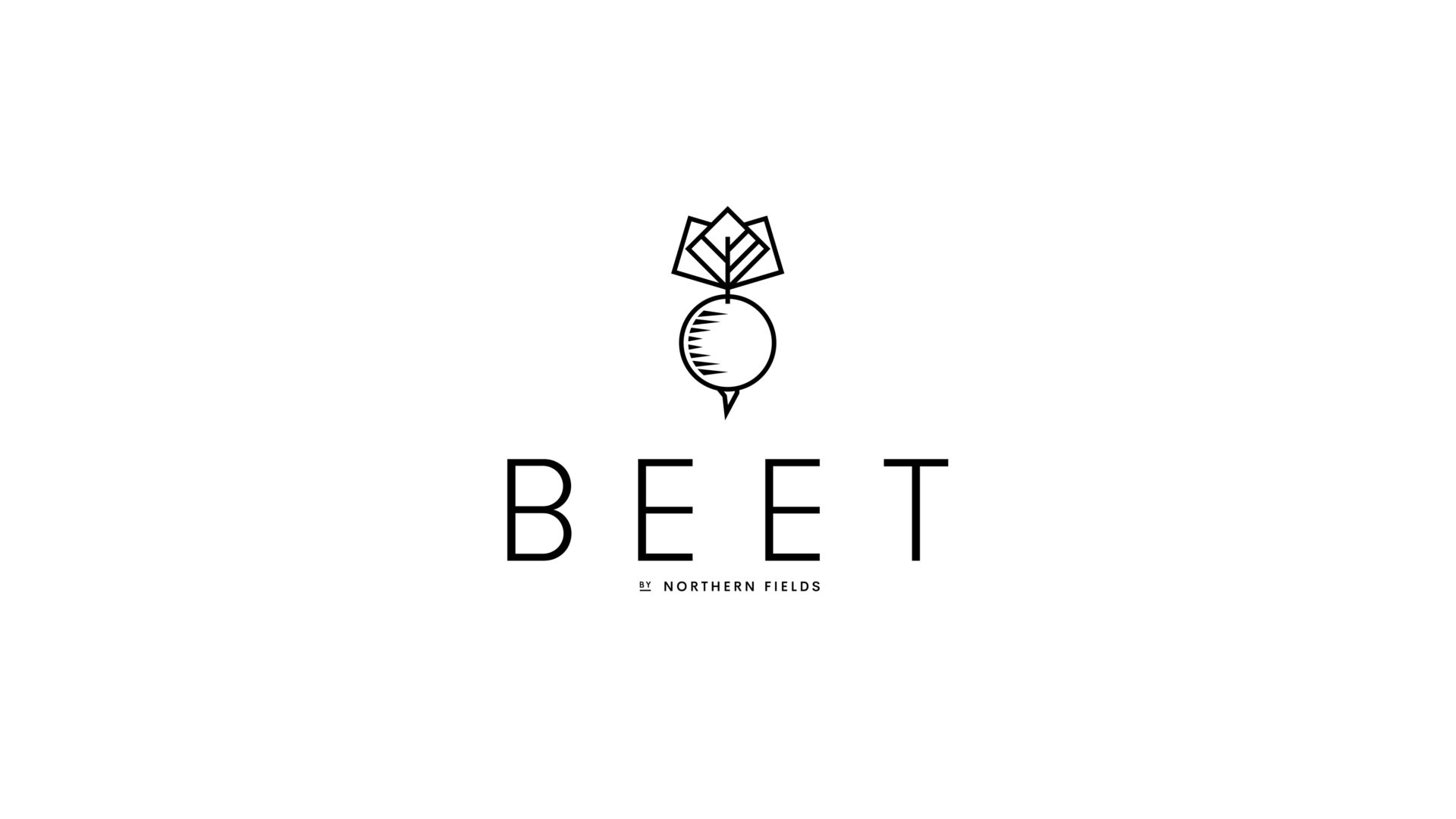 black and white Beet logo