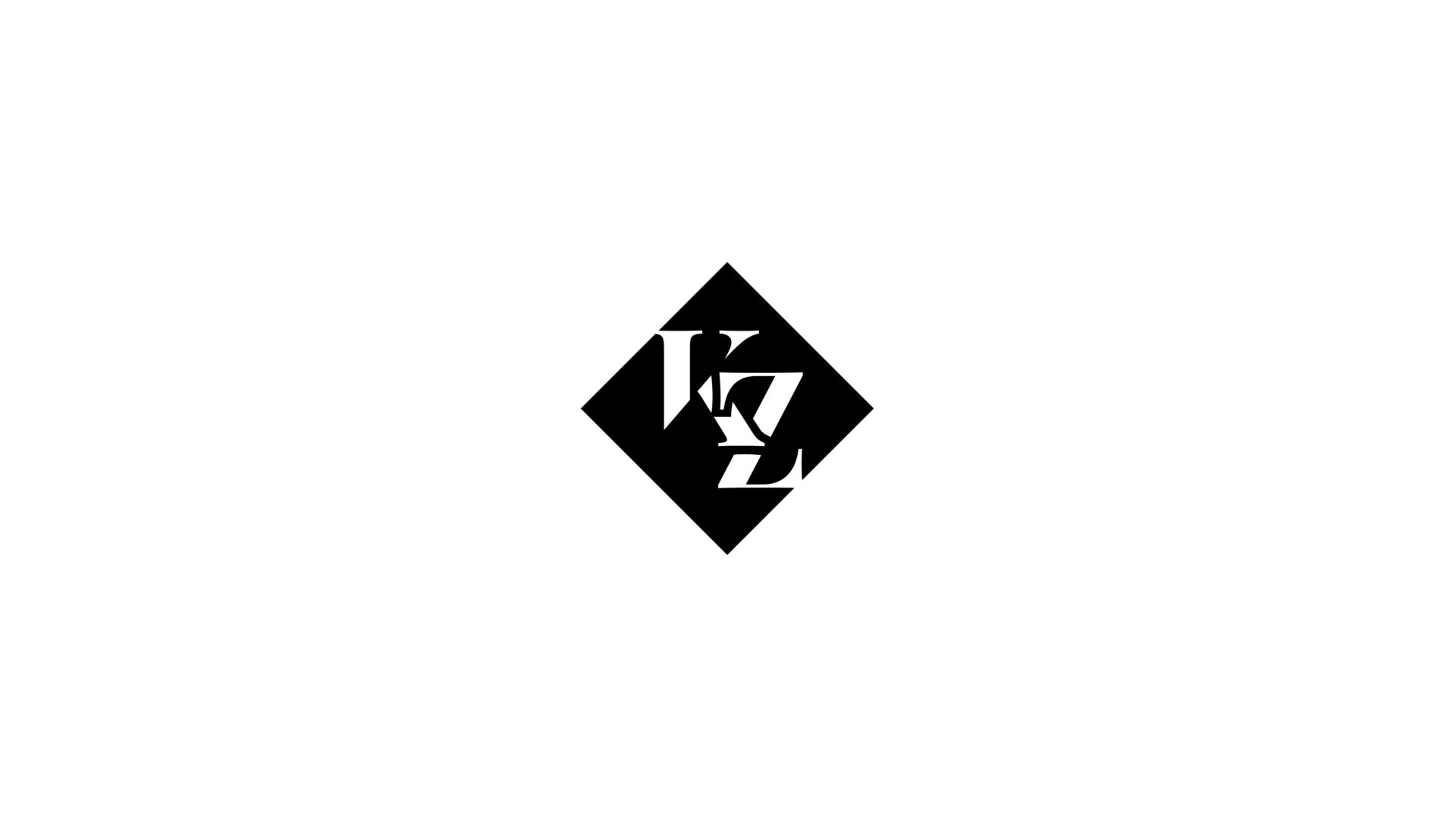 black and white Kat Z logo