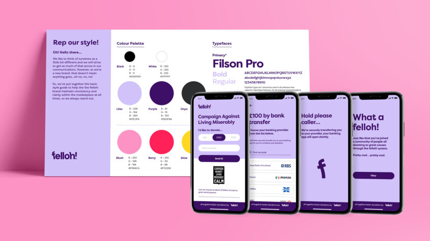 felloh_style_guide_and_payment_journey_on_iphones